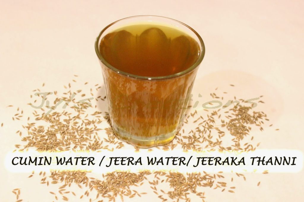 Cumin Seed Water for health weightloss