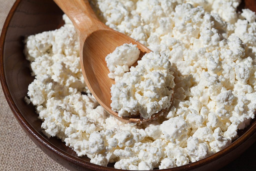 Body Mass Building With Cottage Cheese