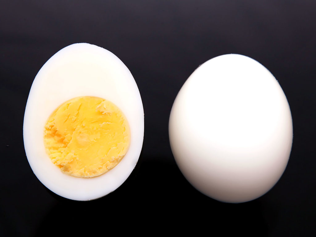 Body building with Eggs