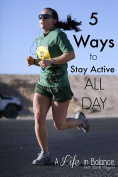 5 Tips to Keep you healthy and Active All Day Long